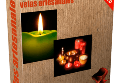 Como hacer velas artesanales