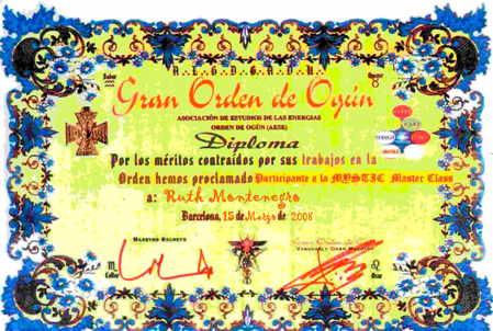 diploma orden