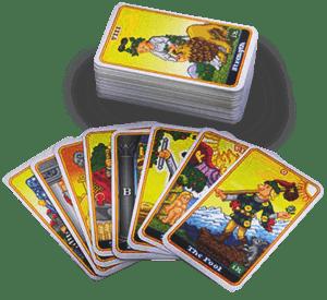 Las cartas del Tarot de Marsella y la Clarividencia
