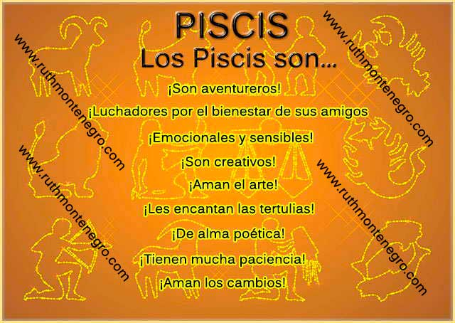 Caracteristicas positivas negativas signo Piscis
