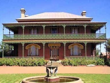 Mansión Monte Cristo, Australia