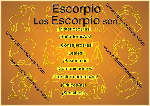 Caracteristicas positivas negativas signo escorpio