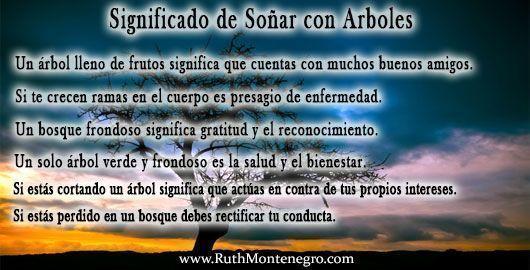 Más significados de Soñar con Arbol