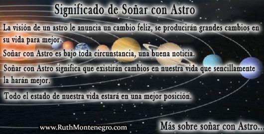 Recomendaciones al Soñar con Astro