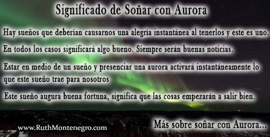 Soñar con Aurora