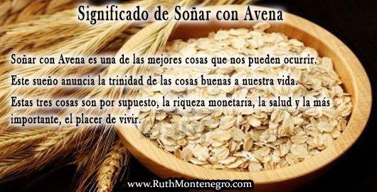 Soñar con Avena