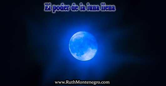 Luna llena su poder y energía