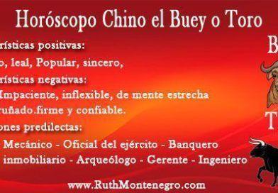 Características del horóscopo chino el Buey