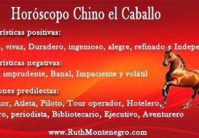 Horóscopo Chino el Caballo