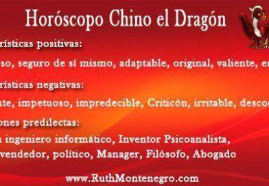Horóscopo Chino el Dragón