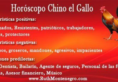 Horóscopo Chino el Gallo
