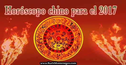 Horoscopo chino 2017 Ruth Montenegro