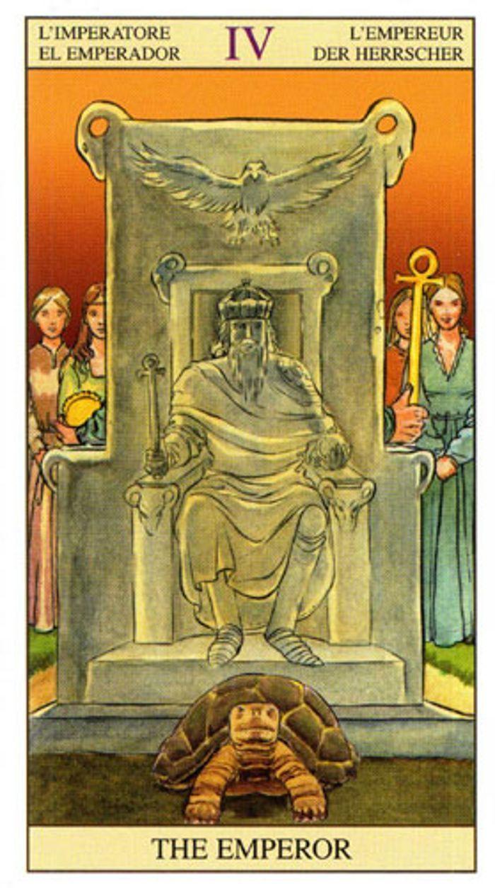 arcano el emperador tarot egipcio