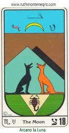 18-arcano-tarot-egipcio-la-luna-ruth-montenegro